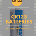CR 123 Batteries