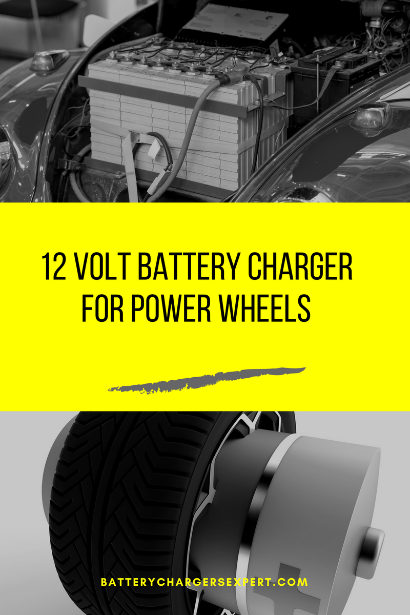 12v battery charger for power wheels